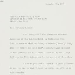 Letter : 1940 December 31