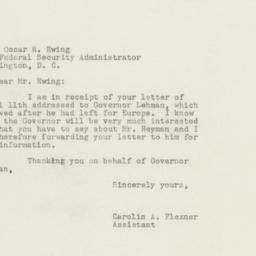 Letter : 1949 April 12