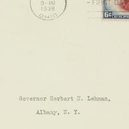 Envelope: 1938 May 14