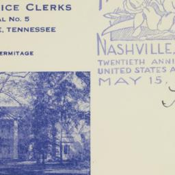 Envelope: 1938 May 20