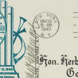 Envelope: 1940 May 13