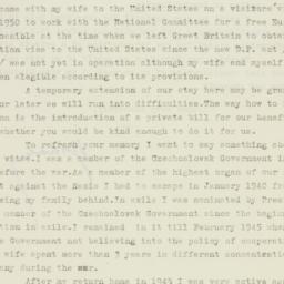 Letter : 1951 January 6
