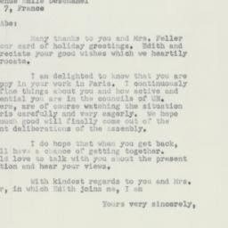 Letter : 1951 January 7