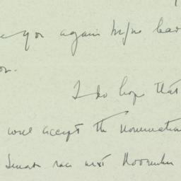 Letter: 1949 July 10