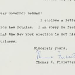 Letter : 1949 October 21