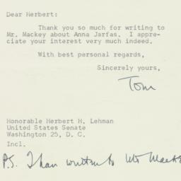 Letter: 1950 July 10