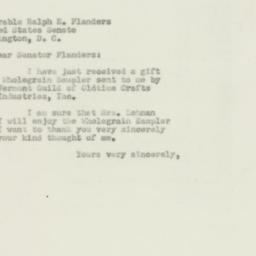 Letter : 1950 April 22