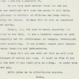 Letter : 1960 June 20