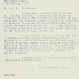 Letter : 1933 October 4