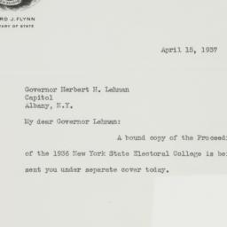 Letter: 1937 April 15