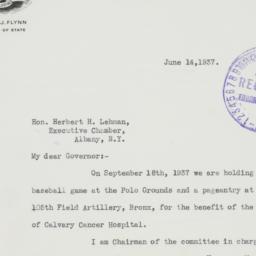 Letter: 1937 June 14