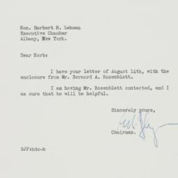 Letter : 1940 August 21