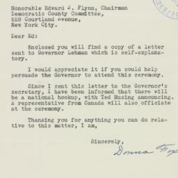 Letter : 1940 January 21