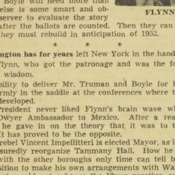 Clipping : 1950 November 3