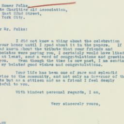 Letter: 1933 February 4