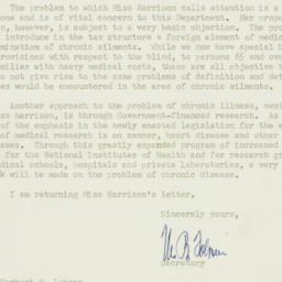 Letter : 1956 August 3