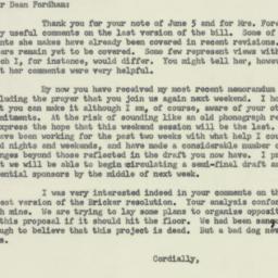 Letter : 1953 June 10