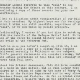 Letter : 1953 October 3