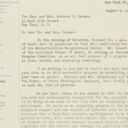 Letter : 1948 August 4