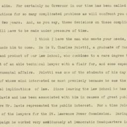 Letter: 1932 December 7