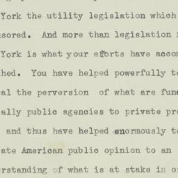 Letter: 1934 April 27