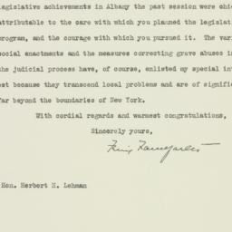 Letter : 1935 April 29