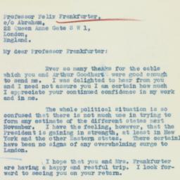 Letter: 1936 July 14