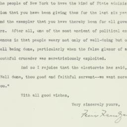 Letter: 1938 November 10