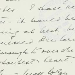 Letter: 1939 January 27