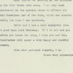 Letter: 1951 June 2