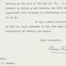 Letter : 1948 October 25