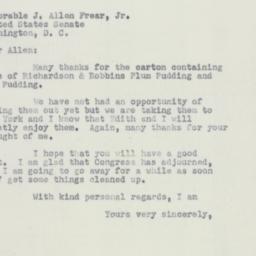 Letter : 1951 October 21