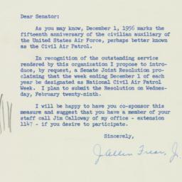 Letter : 1956 February 27