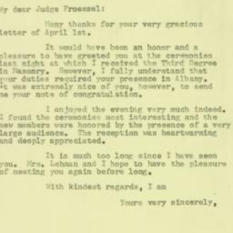 Letter : 1957 April 5