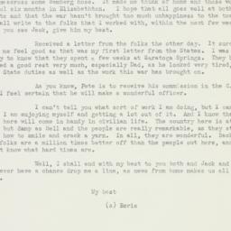 Letter : 1942 September 30