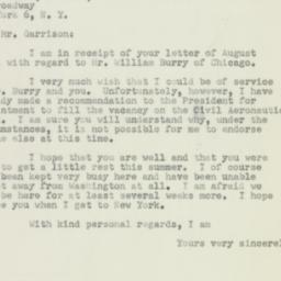 Letter : 1950 August 28