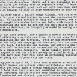 Letter : 1962 May 3