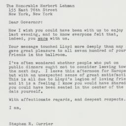 Letter : 1963 April 20