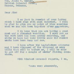Letter : 1938 February 24