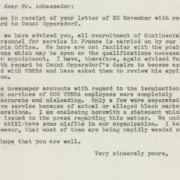 Letter: 1945 December 10