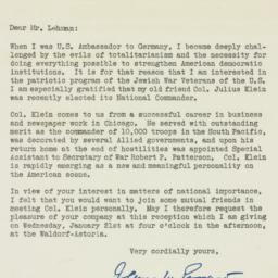 Letter: 1948 January 14