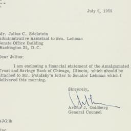 Letter : 1953 January 7