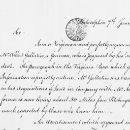 Document, 1786 June 07