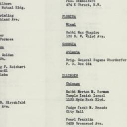 Administrative Record: 1941...