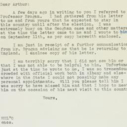 Letter : 1936 September 22