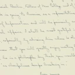 Letter : 1940 December 27