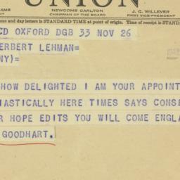 Letter : 1942 November 26