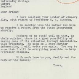 Letter : 1956 January 28