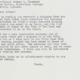 Letter : 1963 September 12