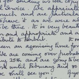 Letter : 1964 January 1